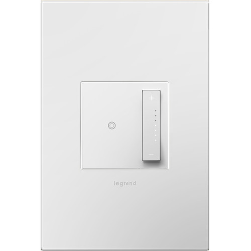 adorne ADTP703TUW4 softap universal dimmer in white finish