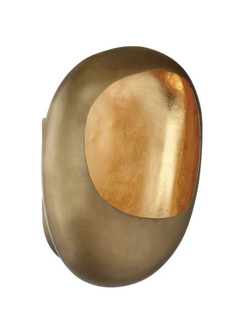 Metropolitan Ardor Collection 1 Light Wall Sconce