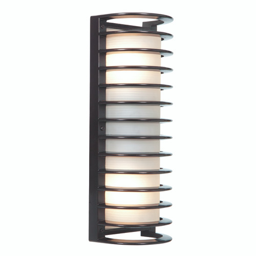 Access Lighting Bermuda Collection Marine Grade Wet Location LED Bulkhead in Bronze Finish