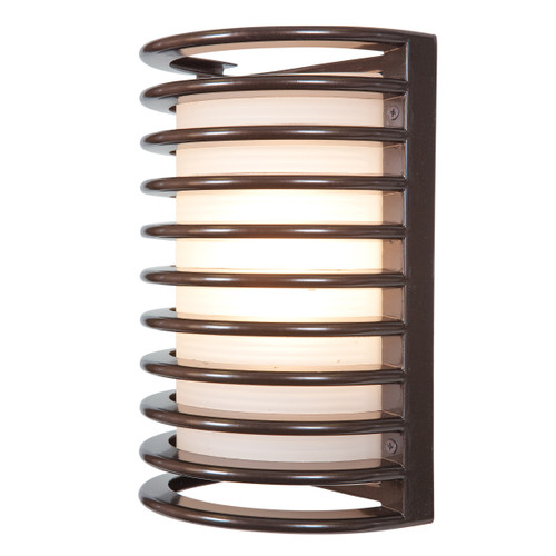 Access Lighting Bermuda Collection White Tuning Marine Grade Wet Location LED Bulkhead in Bronze Finish