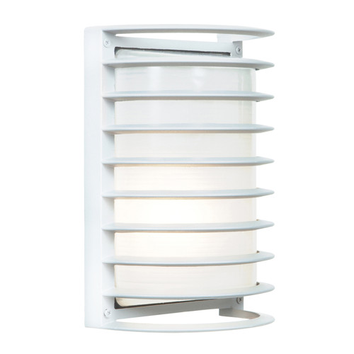 Access Lighting Bermuda Collection White Tuning Marine Grade Wet Location LED Bulkhead in White Finish