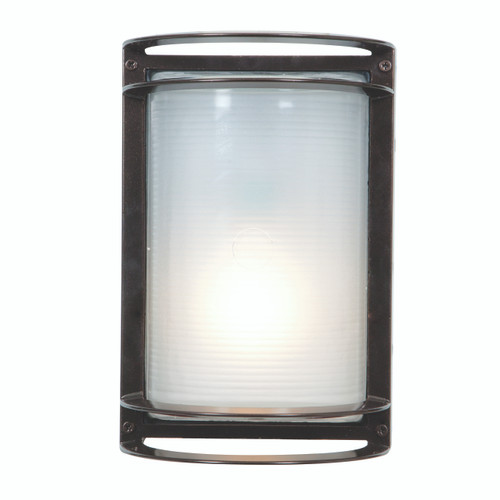 Access Lighting Nevis Collection White Tuning Marine Grade Wet Location LED Bulkhead in Bronze Finish