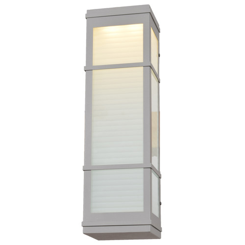 Access Lighting Metropolis Collection LED Outdoor Wall Fixture in Satin Finish
