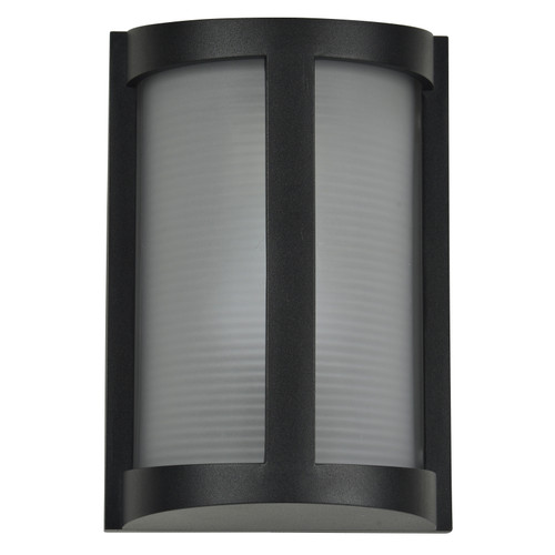 Access Lighting Pier Collection Marine Grade Wet Location LED Wall Fixture in Black Finish