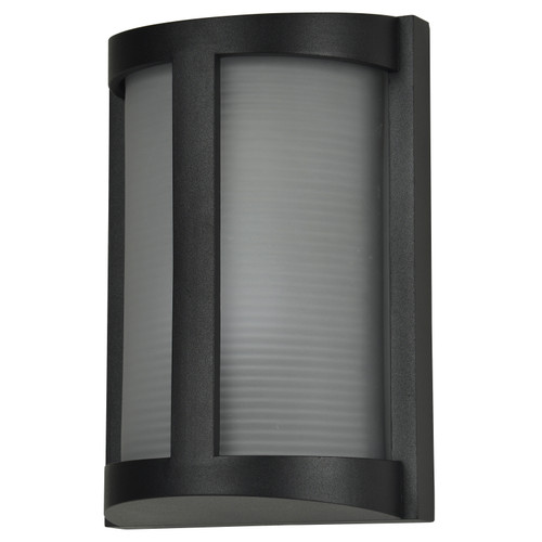 Access Lighting Pier Collection White Tuning Marine Grade Wet Location LED Bulkhead in Black Finish