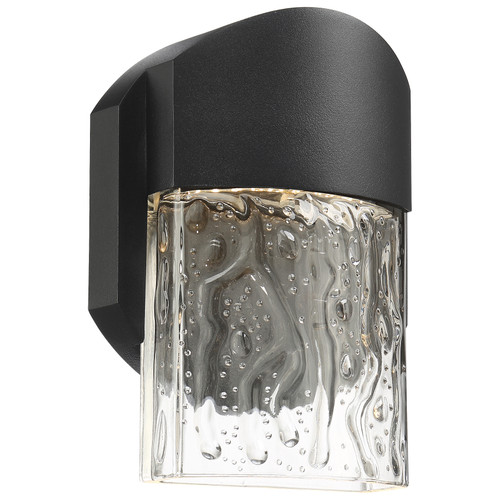 Access Lighting Mist Collection Marine Grade Wet Location LED Wall Fixture in Black Finish