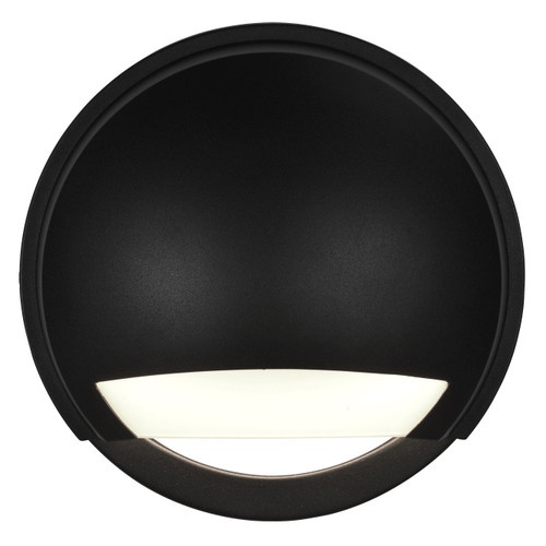 Access Lighting Avante Collection Marine Grade Wet Location LED Wall Fixture in Black Finish