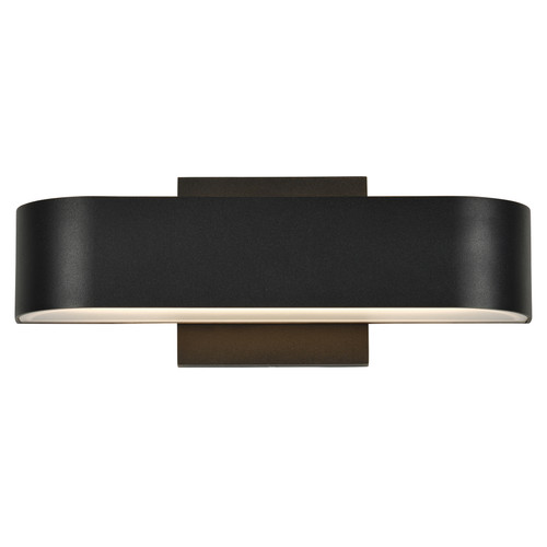 Access Lighting Montreal Collection Marine Grade Wet Location LED Wall Fixture in Black Finish
