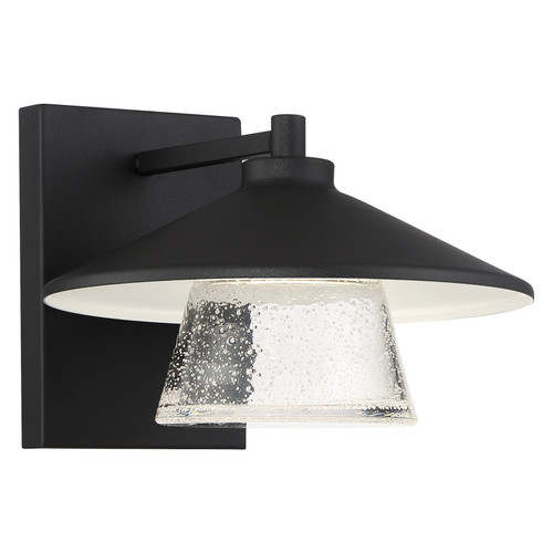 Access Lighting Silo Collection Marine Grade Outdoor Dimmable Wall Sconce in Black Finish