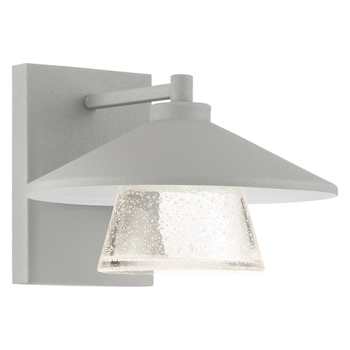 Access Lighting Silo Collection Marine Grade Outdoor Dimmable Wall Sconce in Satin Finish