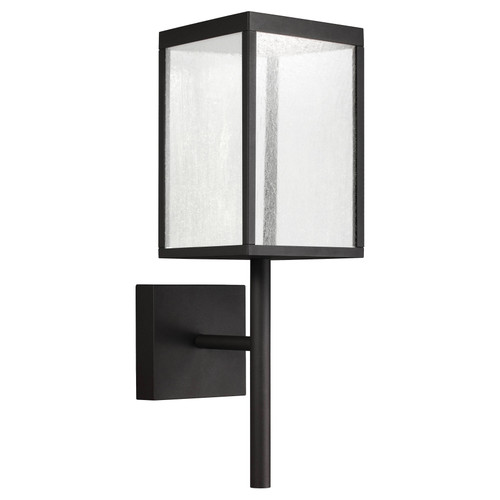 Access Lighting Reveal Collection 120-277v LED Outdoor Wall Fixture in Black Finish
