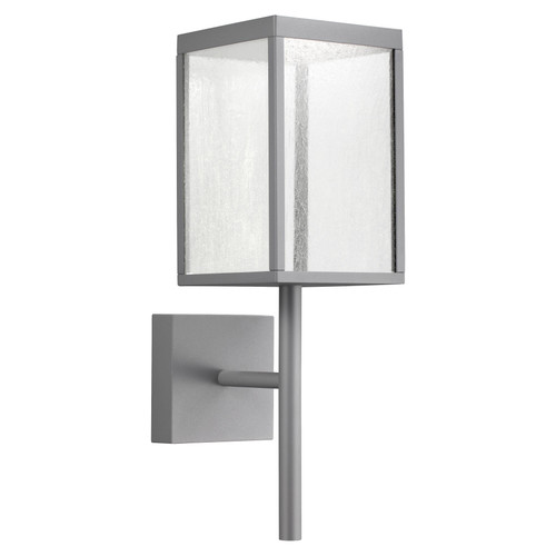 Access Lighting Reveal Collection 120-277v LED Outdoor Wall Fixture in Satin Gray Finish