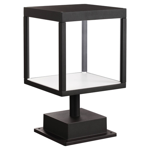 Access Lighting Reveal Collection 120-277v LED Outdoor Pier Mount in Black Finish