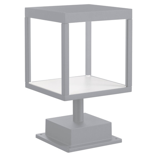 Access Lighting Reveal Collection 120-277v LED Outdoor Pier Mount in Satin Gray Finish