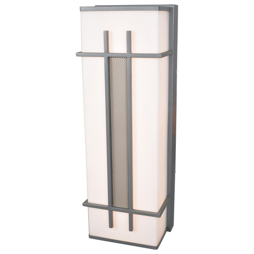 Access Lighting Tuxedo Collection LED Outdoor Wall Fixture in Satin Finish