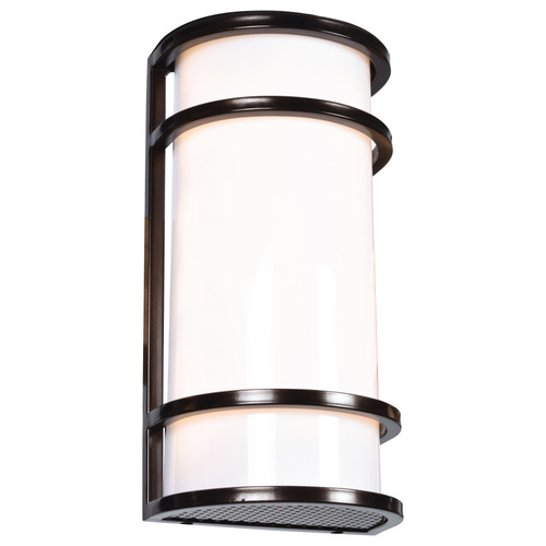 Access Lighting Cove Collection 120vLED Outdoor Wall Fixture in Bronze Finish
