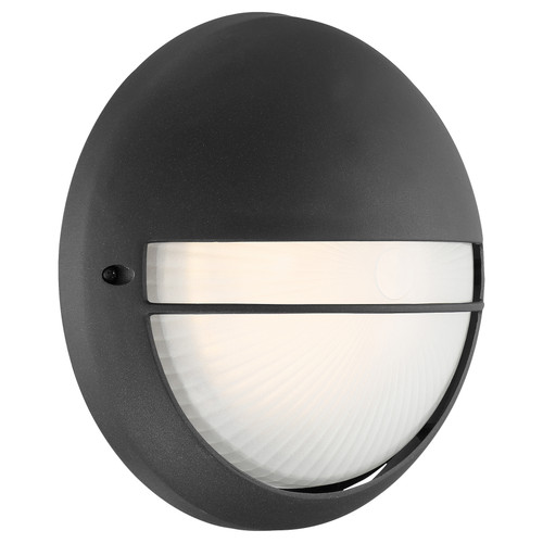 Access Lighting Clifton Collection Outdoor LED Bulkhead in Black Finish