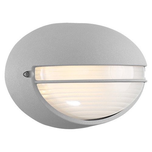 Access Lighting Clifton Collection Outdoor LED Bulkhead in Satin Finish