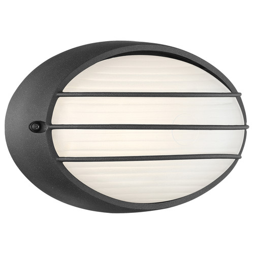 Access Lighting Cabo Collection Outdoor LED Bulkhead in Black Finish