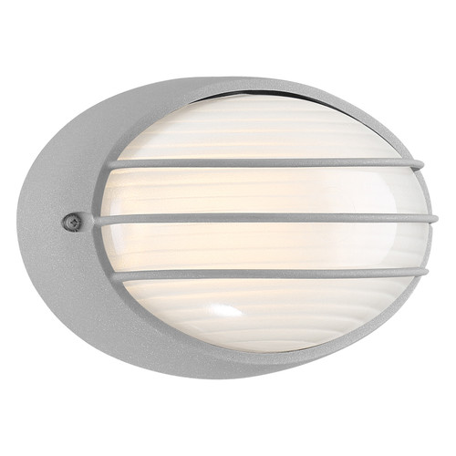 Access Lighting Cabo Collection Outdoor LED Bulkhead in Satin Finish