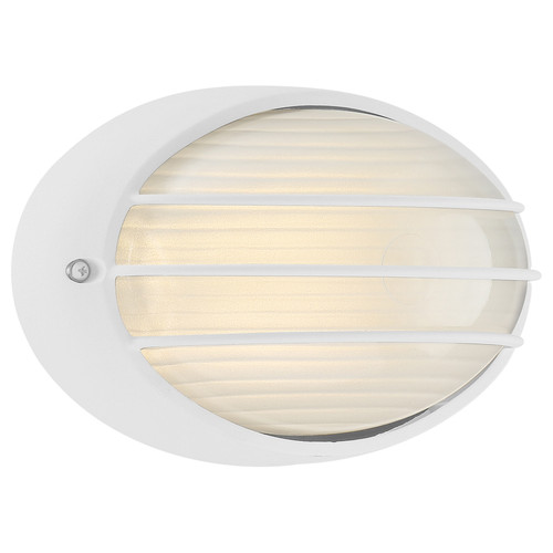 Access Lighting Cabo Collection Outdoor LED Bulkhead in White Finish