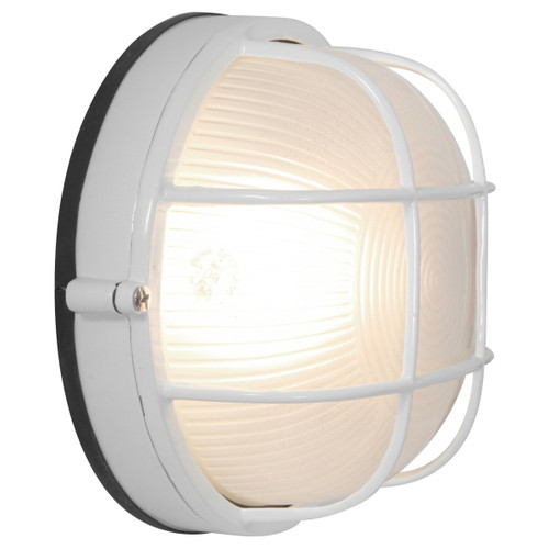 Access Lighting Nauticus Collection Wet Location LED Bulkhead in White Finish