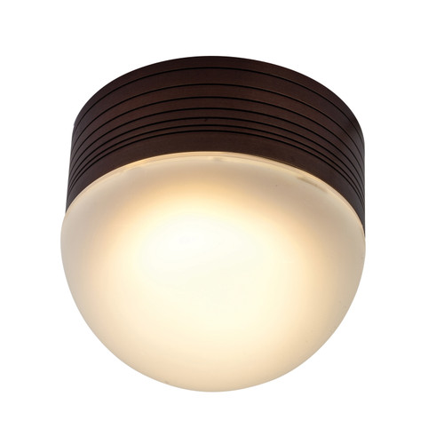 Access Lighting MicroMoon Collection Marine Grade Wet Location LED Ceiling or Wall Fixture in Bronze Finish