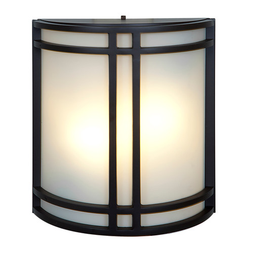 Access Lighting Artemis Collection Wet Location Wall Fixture in Bronze Finish