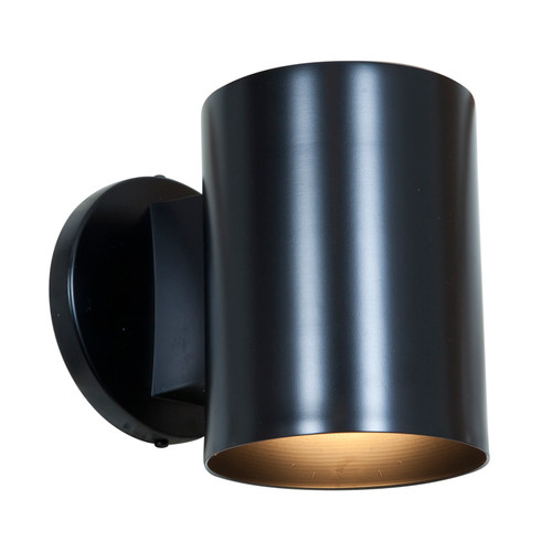 Access Lighting Poseidon Collection Wet Location Wallwasher in Black Finish