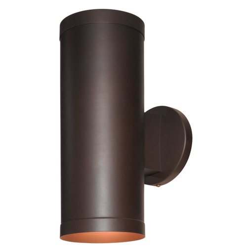Access Lighting Poseidon Collection Wet Location Wallwasher in Bronze Finish
