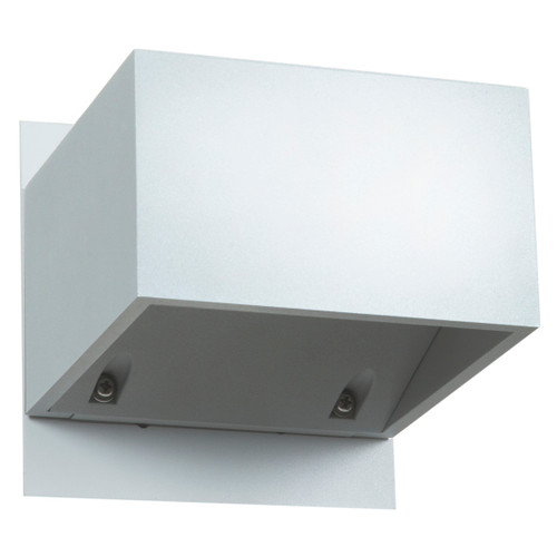 Access Lighting Square Collection Marine Grade Wet Location LED Wallwasher in White Finish