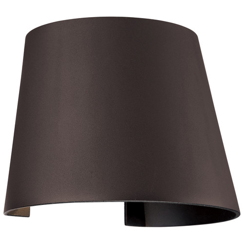 Access Lighting Cone Collection Marine Grade Adjustable Wet Location LED Wallwasher in Bronze Finish