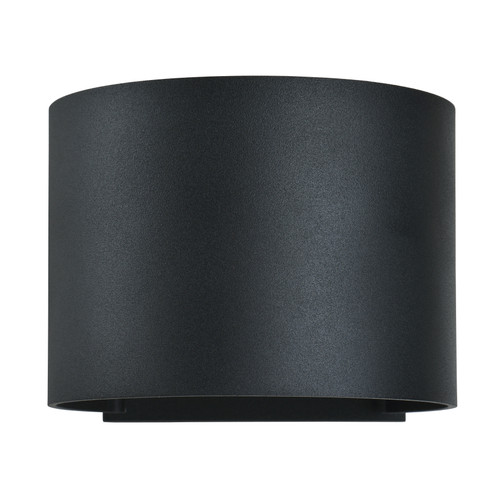 Access Lighting Curve Collection Marine Grade Adjustable Wet Location LED Wallwasher in Black Finish