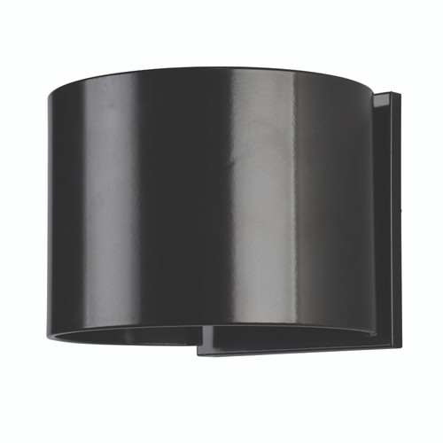 Access Lighting Curve Collection Marine Grade Adjustable Wet Location LED Wallwasher in Bronze Finish