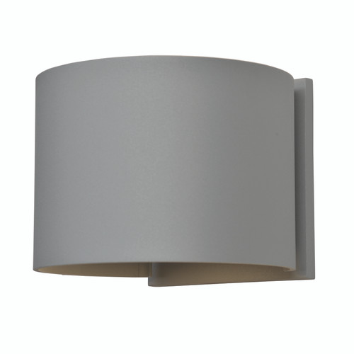 Access Lighting Curve Collection Marine Grade Adjustable Wet Location LED Wallwasher in Satin Finish