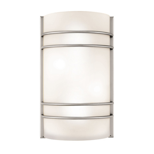 Access Lighting Artemis Collection Wall Fixture in Brushed Steel Finish