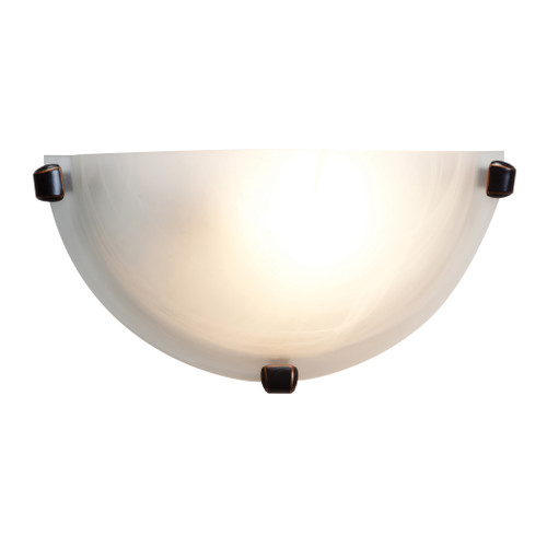 Access Lighting Mona Collection Wall Sconce in Oil Rubbed Bronze Finish