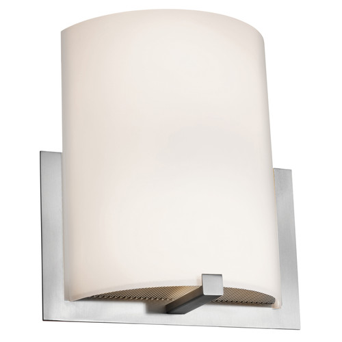 Access Lighting Cobalt Collection Wall Sconce in Brushed Steel Finish