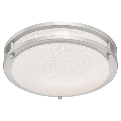 Access Lighting Sparc Collection Dimmable LED Flush Mount in Chrome Finish