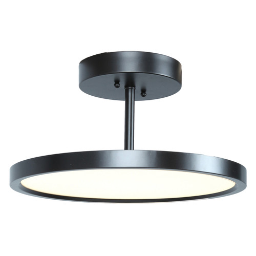 Access Lighting Sphere Collection LED Semi-Flush in Oil Rubbed Bronze Finish