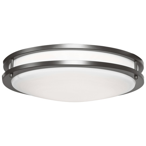 Access Lighting Solero II Collection LED Flush Mount in Bronze Finish