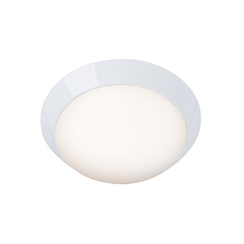 Access Lighting Cobalt Collection Dimmable LED Flush Mount in White Finish