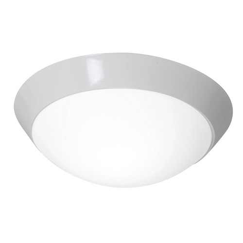 Access Lighting Cobalt Collection White Tuning Dimmable LED Flush Mount in White Finish