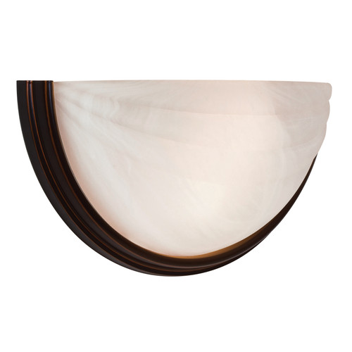 Access Lighting Crest Collection Wall Sconce in Oil Rubbed Bronze Finish