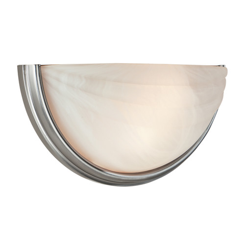 Access Lighting Crest Collection Dimmable LED Wall Sconce in Satin Finish