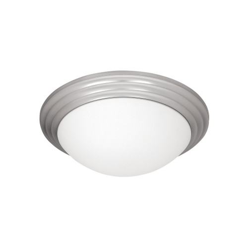 Access Lighting Strata Collection Flush Mount in Brushed Steel Finish