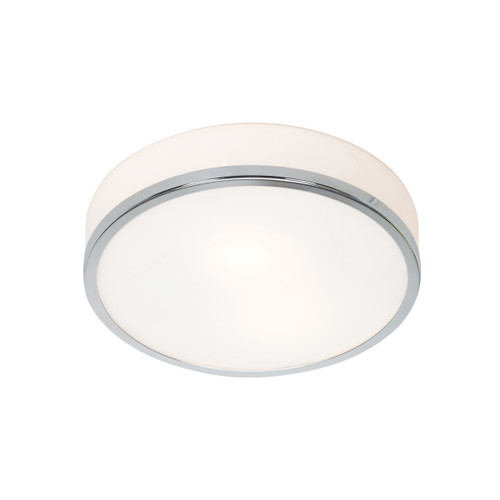 Access Lighting Aero Collection Dimmable LED Flush Mount in Chrome Finish