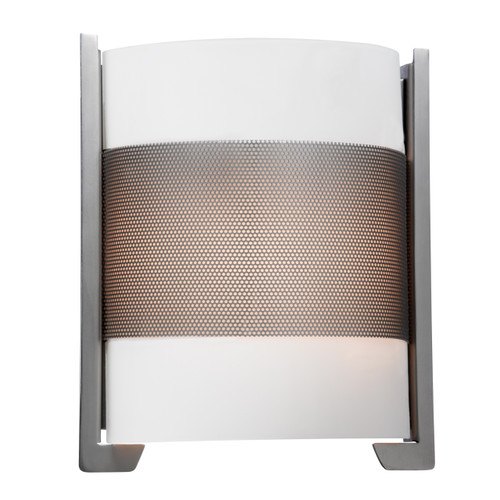 Access Lighting Iron Collection Wall Fixture in Brushed Steel Finish