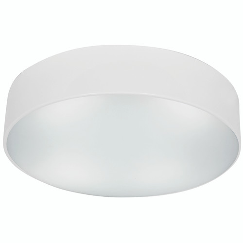 Access Lighting TomTom Collection Dimmable LED Flush Mount in White Finish
