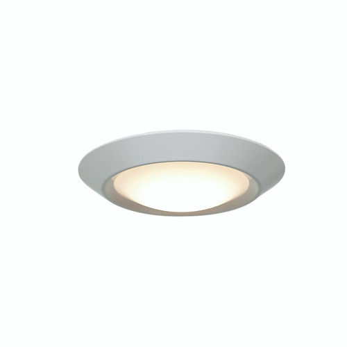 Access Lighting Mini Collection Dimmable LED Flush Mount in White Finish